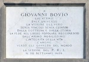 Lapide Bovio - Rocca - C. Ferlauto IBC