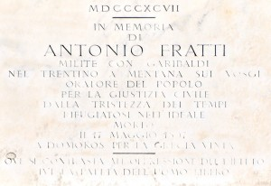 Lapide Fratti - Rocca - C. Ferlauto IBC