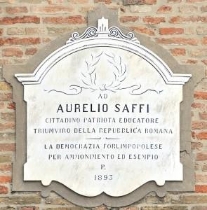 Lapide Saffi - Rocca - C. Ferlauto IBC