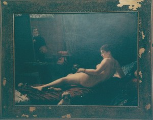 Tela di Angiolino Romagnoli - 1882